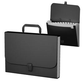 ErichKrause A4 Folder w/ Handle Black