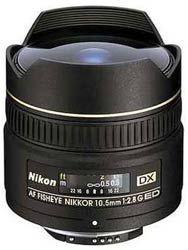 Nikon NIKKOR AF DX FISHEYE-NIKKOR 10,5/2.8G ED