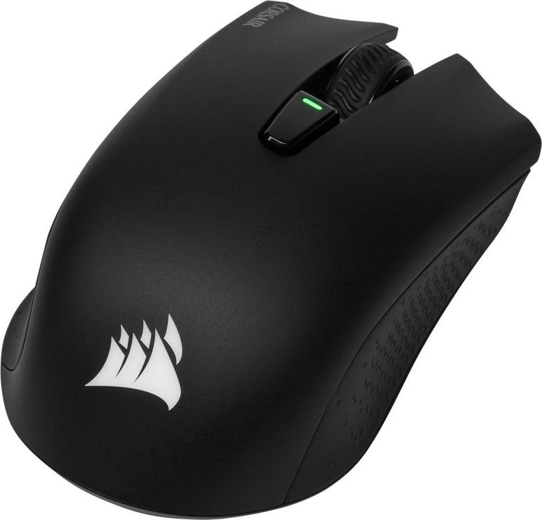 Spēļu pele Corsair Harpoon RGB Black, bezvadu, optiskā