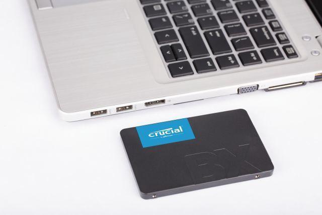 Cietais disks (SSD) Crucial CT480BX500SSD1, SSD, 480 GB