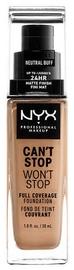 Tonizējošais krēms NYX Can't Stop Won't Stop CSWSF10.3 Neutral Buff, 30 ml