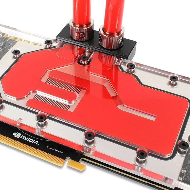 EK Water Blocks EK-CryoFuel Solid Scarlet Red (Premix 1000 mL)