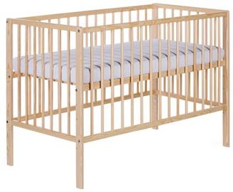 Детская кровать Klups Radek X Pine, 120x60 см
