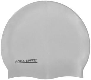 Aqua Speed Mega Cap 26/100 Silver