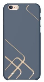 Azulo Pattern Back Cover For Apple iPhone 6 Plus/6s Plus Blue