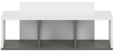 Bērnu istabas mēbeļu komplekts ML Meble Traffic White