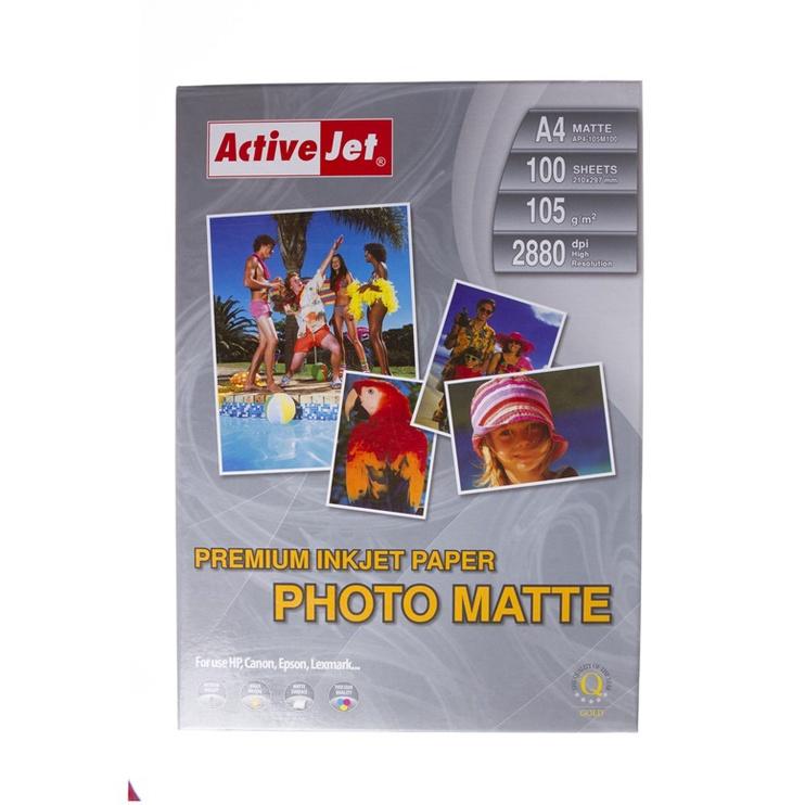 Фотобумага ActiveJet Photo Paper Matte A4