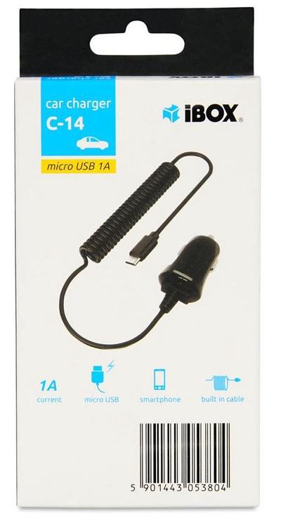 iBOX C-14 Micro USB Car Charger Black