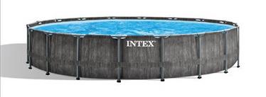Бассейн Intex Premium Greywood, синий, 5490x1220 мм, 16807 л
