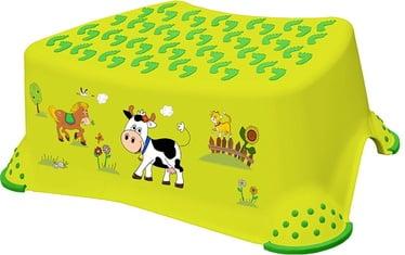 Pakāpiena soliņš Keeeper Baby Step Stool, zaļa