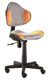 Biroja krēsls Signal Meble Q-G2 Orange/Grey