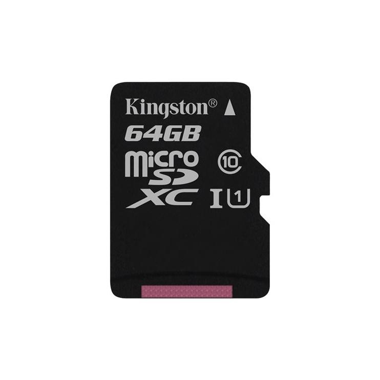 Kingston Canvas Select microSDXC 64GB UHS-I Class 10 + SD Adapter