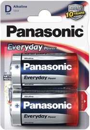 Panasonic D/LR20 Alkaline Battery x2