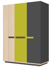 Skapis Szynaka Meble Wow 05, 142x57x196 cm