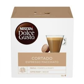 Кофе в капсулах Nescafe Dolce Gusto Cortado Espresso Macciato, 101 g., 16 шт.