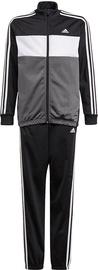 Adidas Essentials Tiberio Track Suit GN3970 Grey/Black 152cm