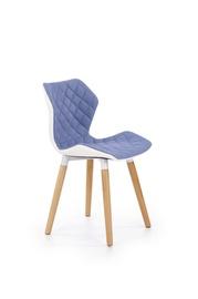 Ēdamistabas krēsls Halmar K277 Sky Blue/White