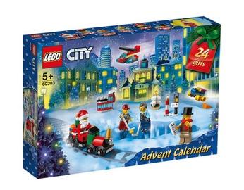 Конструктор LEGO City Адвент календарь 60303, 349 шт.