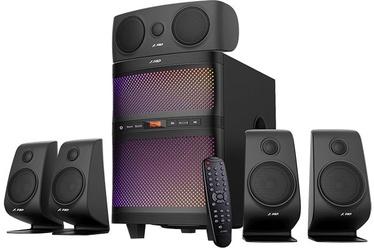 Bezvadu skaļrunis Fenda F5060X 5.1 Black, 135 W