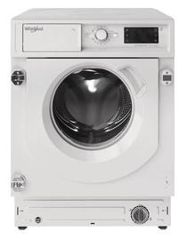 Встраиваемая стиральная машина Whirlpool BI WMWG 71483E EU N, 7 кг, D