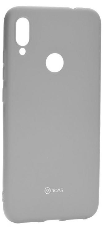 Roar Colorful Jelly Back Case For Xiaomi Redmi Note 7/Note 7 Pro Grey
