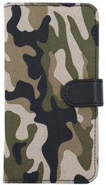 Forever Army Book Case For Huawei P8 Lite Khaki