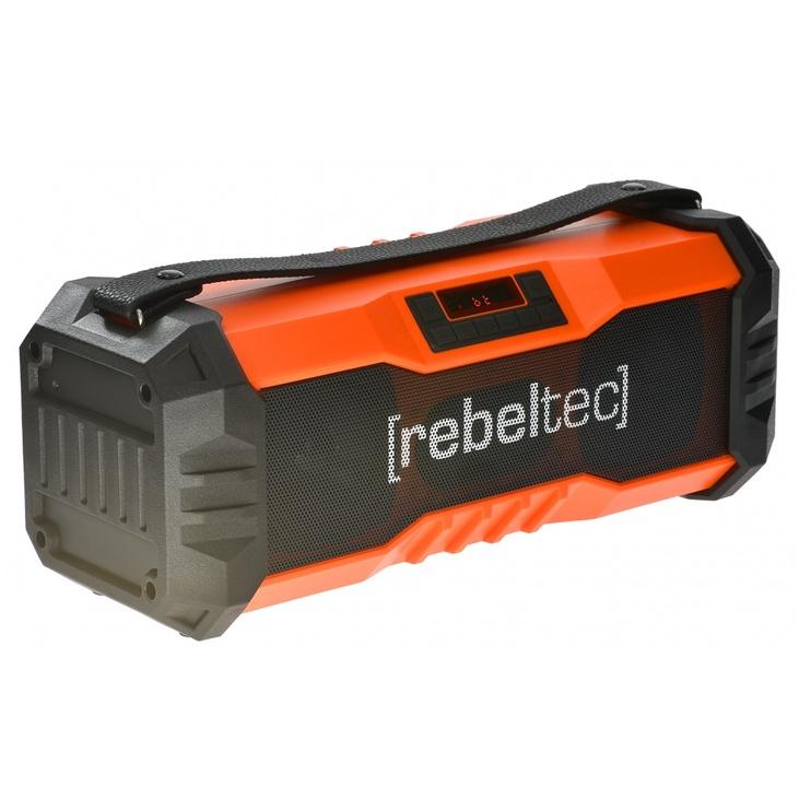 Bezvadu skaļrunis Rebeltec SoundBox 350, sarkana, 18 W