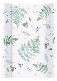 Pārtinamais galds Ceba Baby Comfort Watercolor World, 70 cm x 50 cm, balta/zaļa