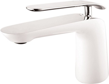 Vento Tivoli Ceramic Sink Faucet White/Chrome