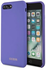 Guess Hard Silicone Back Case For Apple iPhone 7 Plus/8 Plus Violet