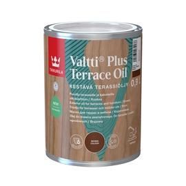 Eļļa terasēm Valtti plus terassiö brūn 0.9 (tikkurila)