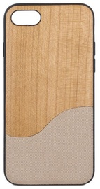 Beeyo Wooden Wave Back Case With Wood Design For Samsung Galaxy S8 Beige