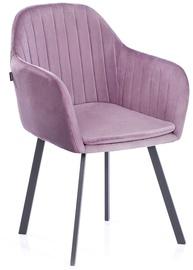Ēdamistabas krēsls Homede, rozā