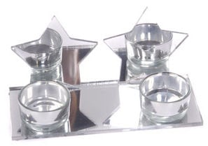 Verners Candle Holder Silver