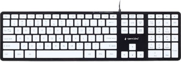 Gembird MCH-02 Chocolate Keyboard US Black/White