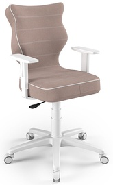 Bērnu krēsls Entelo Duo Size 6 JS08, brūna/balta/bēša, 400 mm x 1045 mm