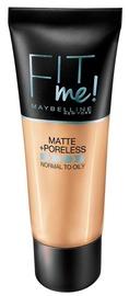 Tonizējošais krēms Maybelline Fit Me Matte + Poreless Foundation Mocha