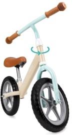 Балансирующий велосипед Qkids Fleet Сappuccino, коричневый/кремовый, 12″
