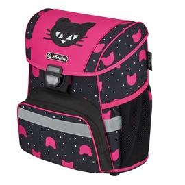 Рюкзак Herlitz 50032549, черный/розовый