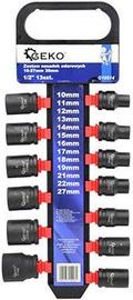 """Муфта Geko G10514 Impact Sockets Set 1/2"""" 10-27mm 13pcs"""