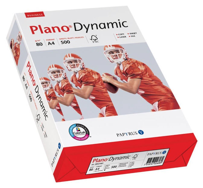 Papyrus Plano Dynamic A4 Paper 500 Sheets