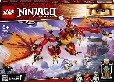 Konstruktors LEGO Ninjago Uguns pūķa uzbrukums 71753, 563 gab.