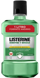 Listerine Fresh Mint Teeth And Gum Defence Mouthwash 1000ml