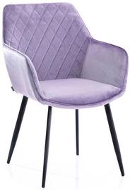 Ēdamistabas krēsls Homede Vialli Lilac, 2 gab.