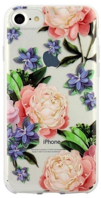 Beline Pattern Back Case For Huawei Y7/Y7 Prime 2019 Flowers