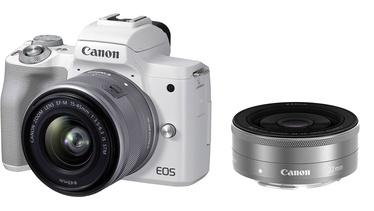 Sistēmas fotoaparāts Canon EOS M50 Mark II