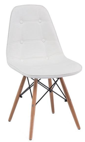 Ēdamistabas krēsls Signal Meble Axel Buk White, 1 gab.