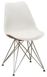 Ēdamistabas krēsls Extom Meble Sarma White