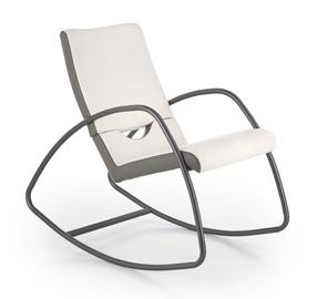 Atzveltnes krēsls Halmar Balance Grey/White, 105x55x95 cm