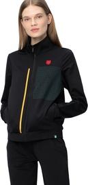 Audimas Stretch Sweatshirt With Cotton Inside Black M